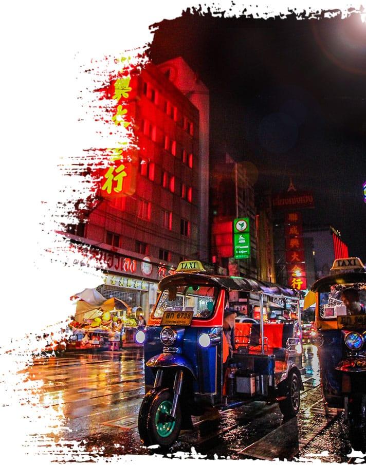 Nos circuits et voyages en Thailande